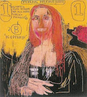 Jean-Michel Basquiat Mona Lisa.