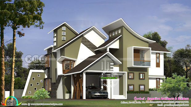 Unique Ultra Modern Contemporary Home With 4 Bedrooms