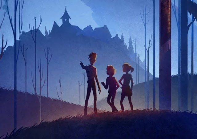 Cirrina Studios Has Revealed The First Key Visual For Their Animated Feature Thr Extincts.