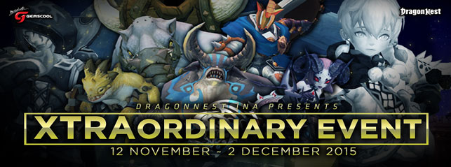 Dragon Nest Update Level 90 Hadirkan Event Xtraordinary November