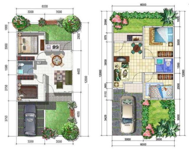 Contoh Desain Rumah Minimalis Sederhana Beserta Ukurannya