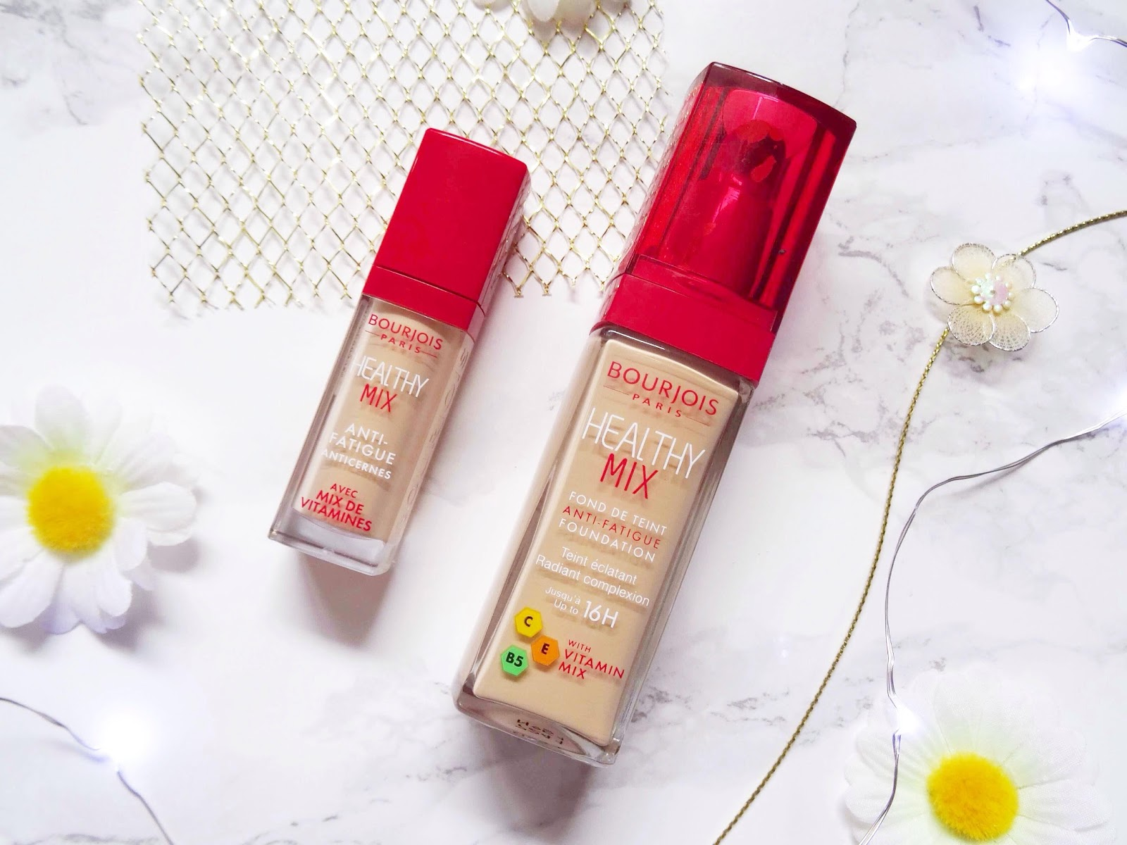 First Impressions: Bourjois Healthy Mix Foundation and Concealer