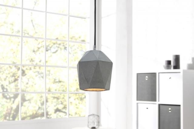 betonové světlo, betonový kryt na světlo - e-shop