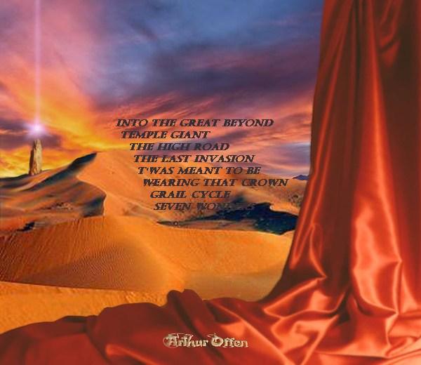 ARTHUR OFFEN - Seven Wonders (2016) back