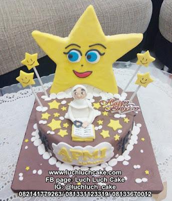 Kue Tart Tema Bintang Untuk Anak Cewek