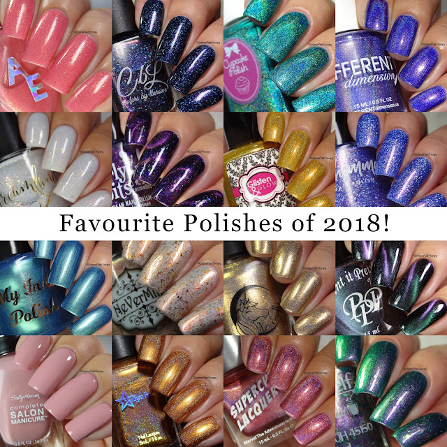 My Favourite Polishes in 2018 | Anita A.
