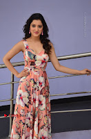 Actress Richa Panai Pos in Sleeveless Floral Long Dress at Rakshaka Batudu Movie Pre Release Function  0072.JPG