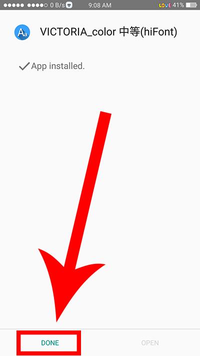 Oppo F3 Change Font Color