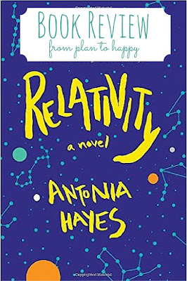 Relativity by Antonia Hayes is sweet, thoughtful, and perfect for physics nerds.