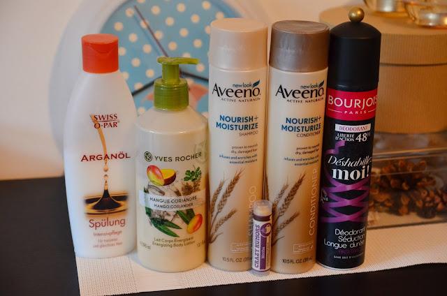 iherb aveeno bourjois deodorant