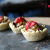 Tartelettes crues pouding au chocolat | Raw tartlets with chocolate pudding