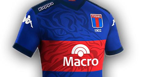 3fd57fa37e Tigre lança nova camisa titular para o Campeonato Argentino - Testando Novo  Site