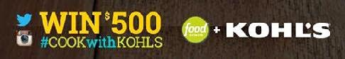 kohls food network contest banner