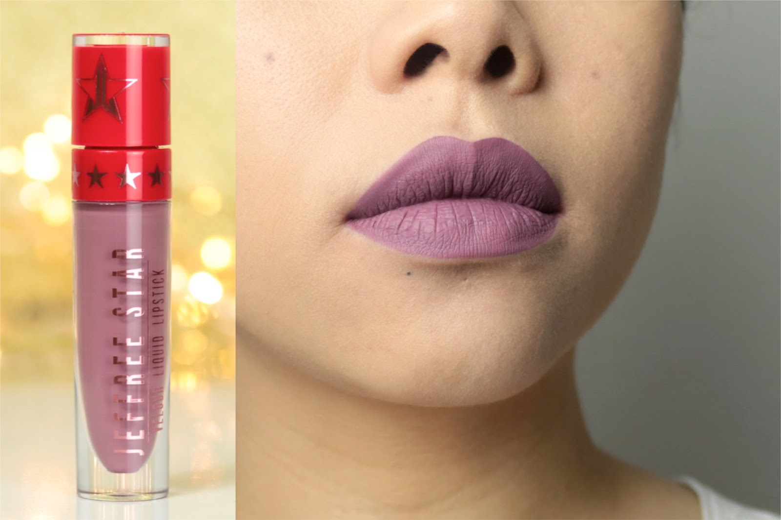 Jeffree Star Velour Liquid Lipsticks | La collection de Noël avis et swatch Sagittarius