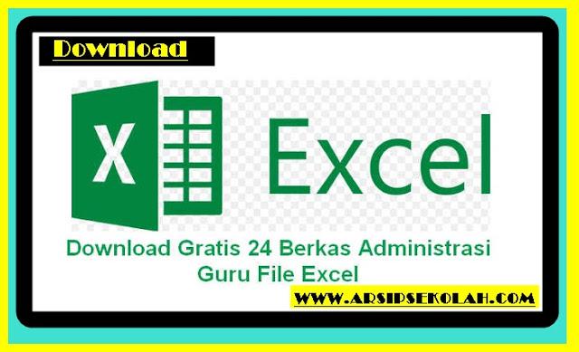 Download Kumpulan Aplikasi Administrasi Guru Versi Terbaru