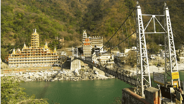 Lakshman Jhula, Popular Hanging Bridge