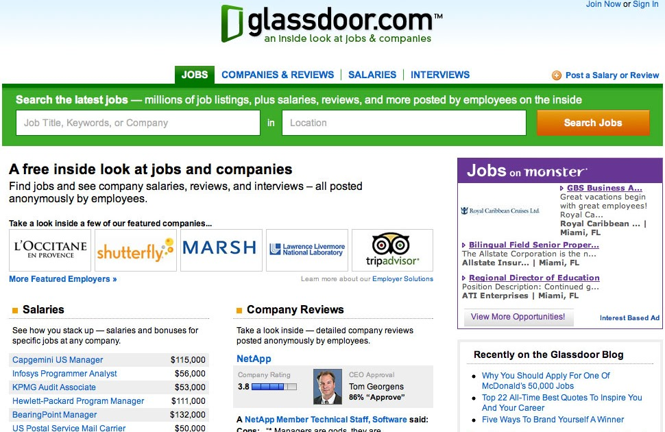 The Frager Factor: Salary Share ( me) an Glass Door ( com) Find Out