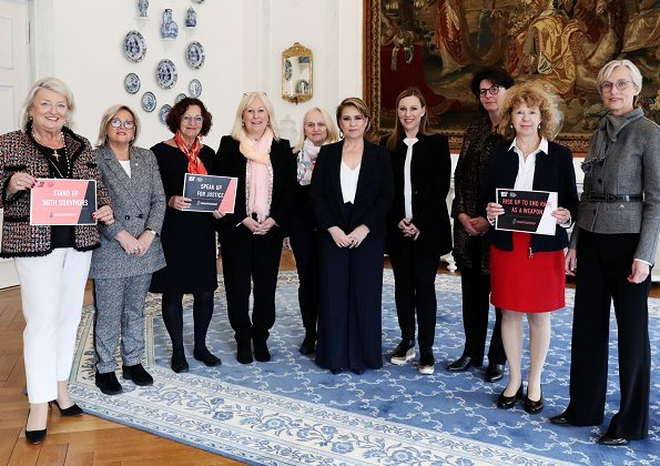 meeting with board members of the National Council of Women