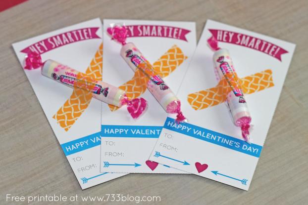 smarties valentines