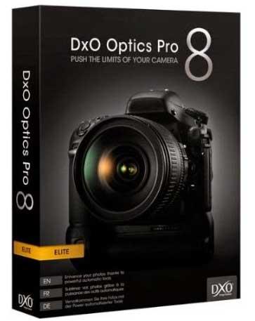 Download DXO OPTICS PRO 8