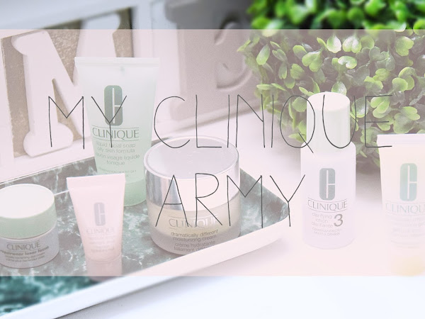 My mini Clinique army // Review