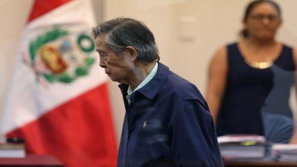 Fujimori sufre descompensación tras nulidad de indulto en Perú