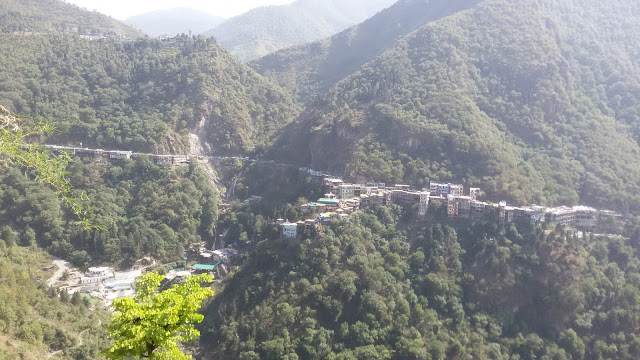 Panoramic view of Kempty Fall Dehradun