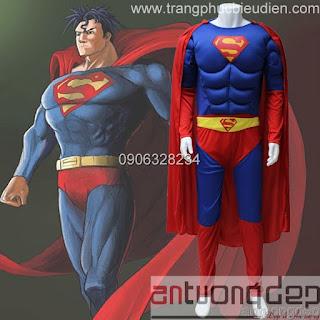 may bán đồ superman