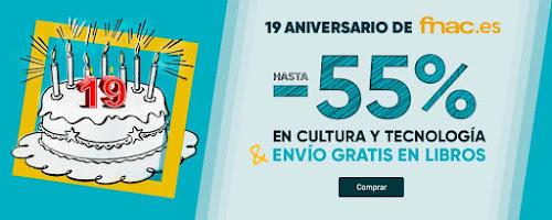 Top 10 ofertas 19 Aniversario de Fnac.es
