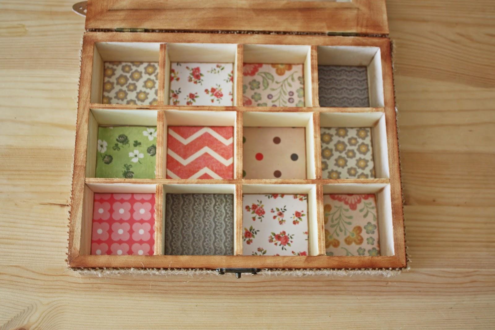 Joyero de scrap probando el pirograbador handbox craft - Como hacer un joyero de madera ...