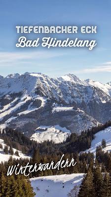 Schneeschuhwanderung Tiefenbacher Eck - Bad Hindelang | Allgäuer Alpen | Panoramawanderung Bayern | Tourenplanung mit GPS-Track