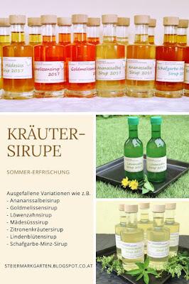 Kräutersirupe-Pin-Steiermarkgarten