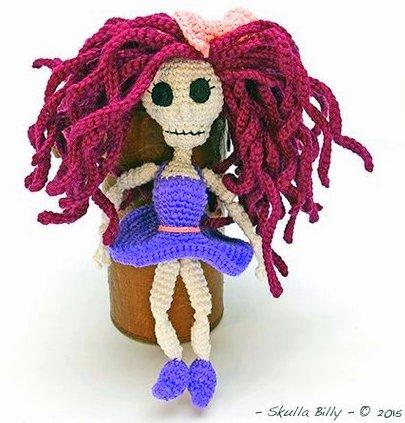 Skelly Skeleton Crochet Amigurumi Pattern by CraftyDebDesigns ... | 423x405