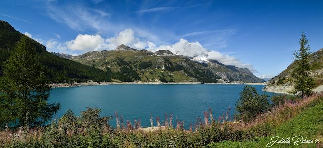 Lac Chevril, lac de tignes, Savoie