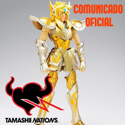 Comunicado oficial de Tamashii Nations Spain sobre Hyoga de Acuario EX