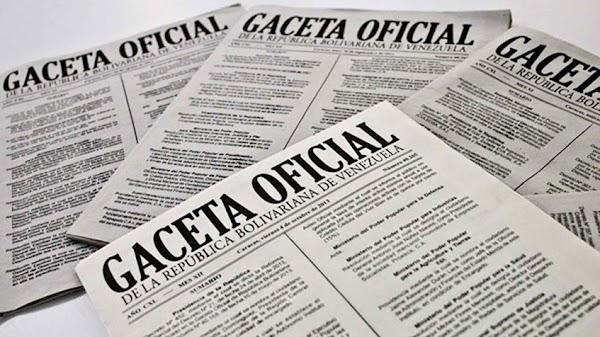 Léase SUMARIO de Gaceta Oficial N° 41.590 del 20 de febrero de 2019,