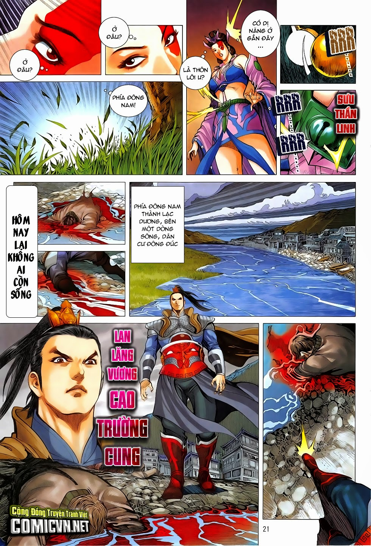 Chiến Phổ chapter 4: mị hồ ngự hỏa trang 21
