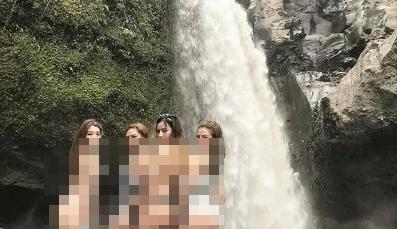 Naudzubillah! Virus Bum Selfie, Netizen Ramai-Ramai Pamer Bokong di Objek Wisata Bali