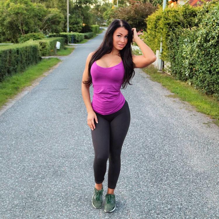 Fitness Model Instagram Clara Felicia Lindblom