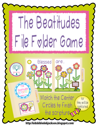 http://www.biblefunforkids.com/2015/04/the-beatitudes-more-printables.html