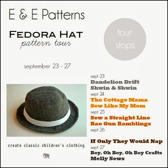 fd5822d906f Have you gotten your Fedora Hat pattern