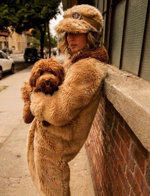 Gisele Bundchen for Vogue Paris by Inez and Vinoodh - Protection Rapprochee