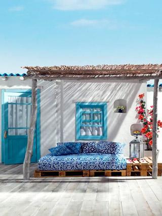 5f55adc8a3799 Decoración de estilo mediterráneo para tu apartamento o casa de la playa