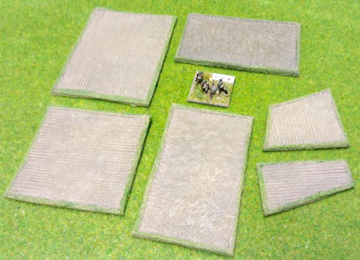 38/F1 Small Fields Pack of 6 pieces comprising: