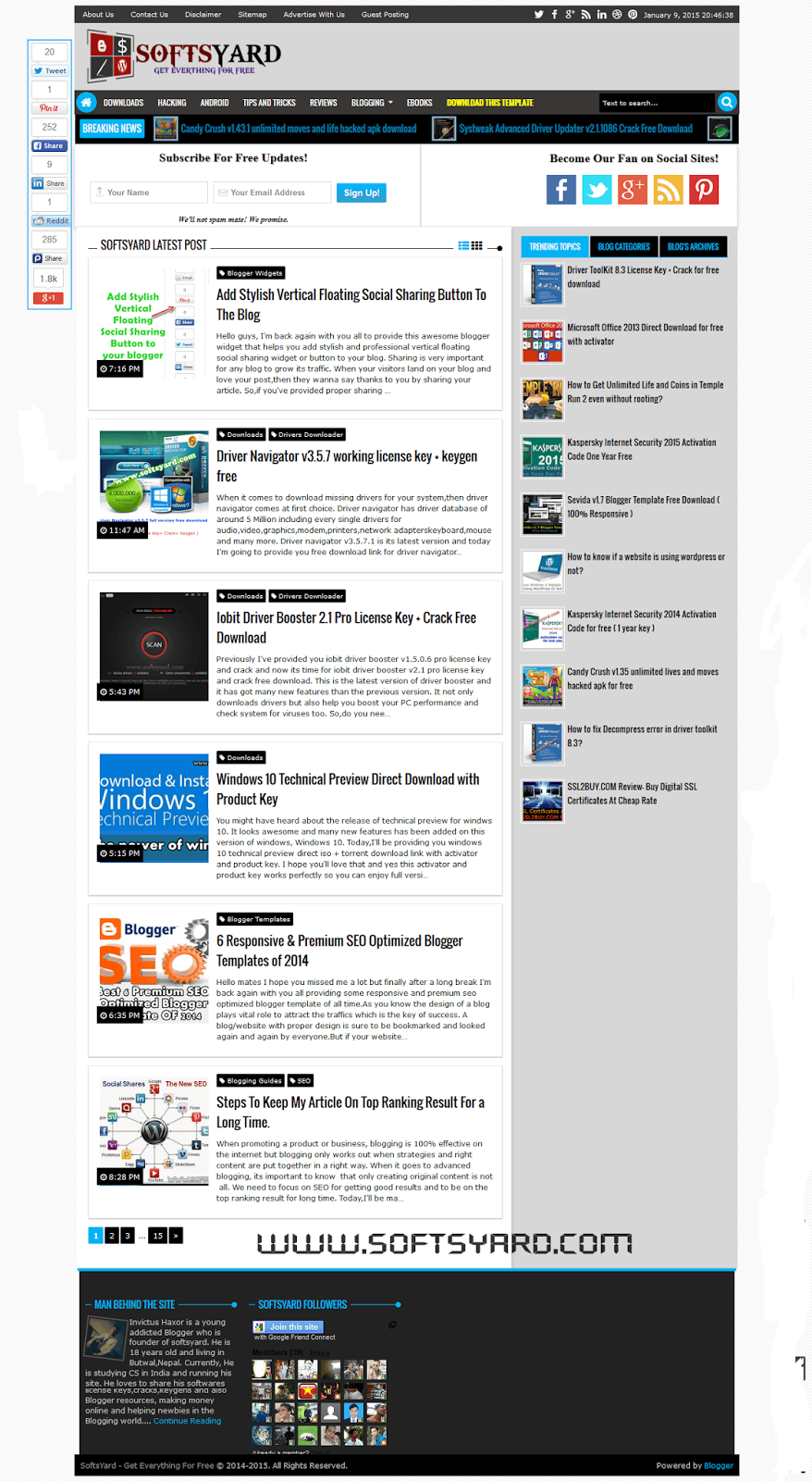 Niedlich Kostenlose Download Blogger Vorlage Ideen - Beispiel ...