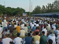 Beribu-ribu Umat Islam Asal Lampung Menyeberang ke Merak bergabung Aksi 212