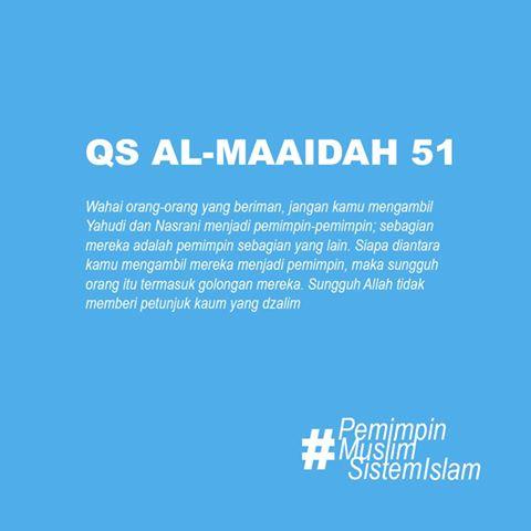 Ungkapan Ahok Mengenai Surat Al Maidah Ayat 51 Inilah Penjelasan Ustadz Felix Siauw