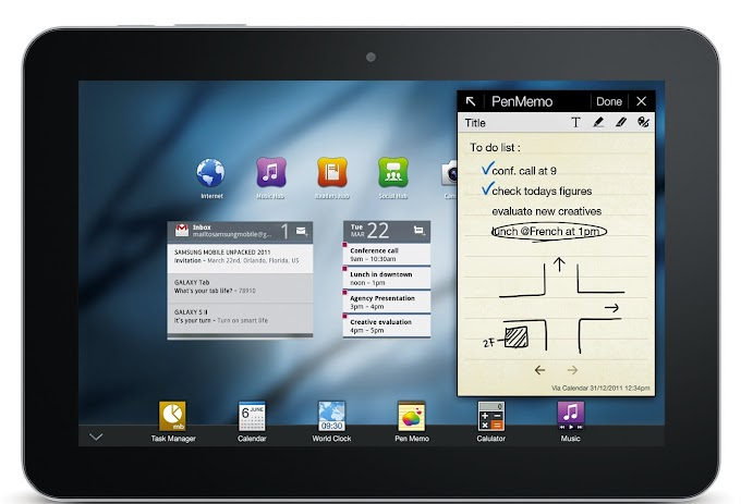 Samsung Galaxy Tab 8.9 receives Android 4.0 Ice Cream Sandwich software update