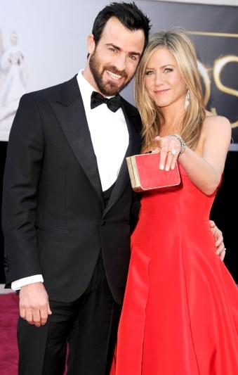 Foto de Jennifer Aniston y Justin Theroux en la alfombra roja