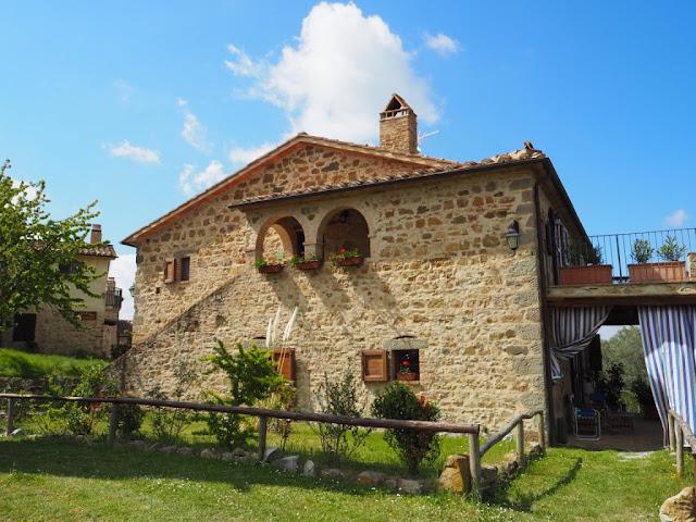 Naše ubytování, kamenná vila - víkend v Toskánsku, okolí Montalcino